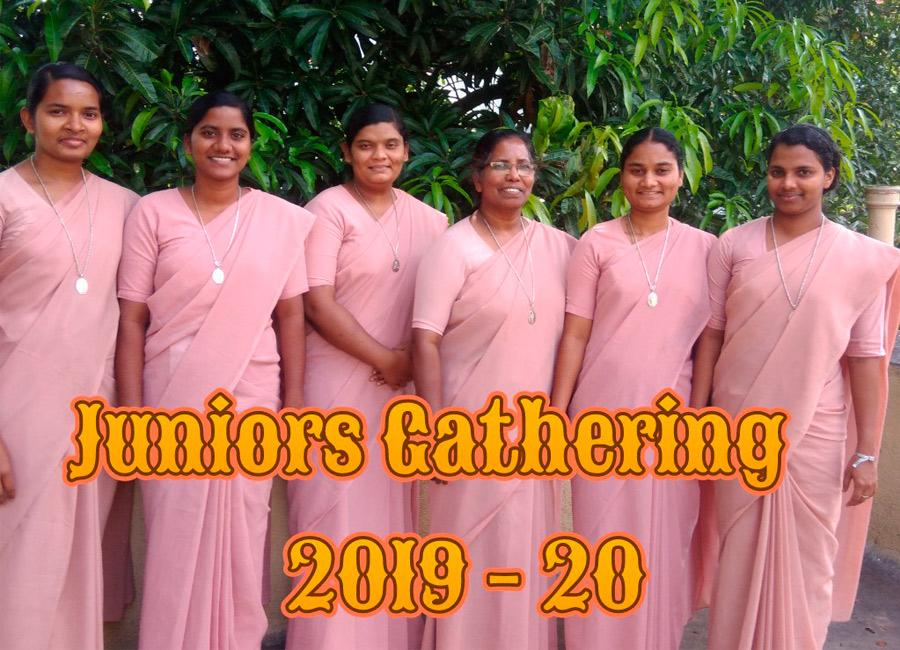Rencontre de Junioristes à Bangalore (Inde)