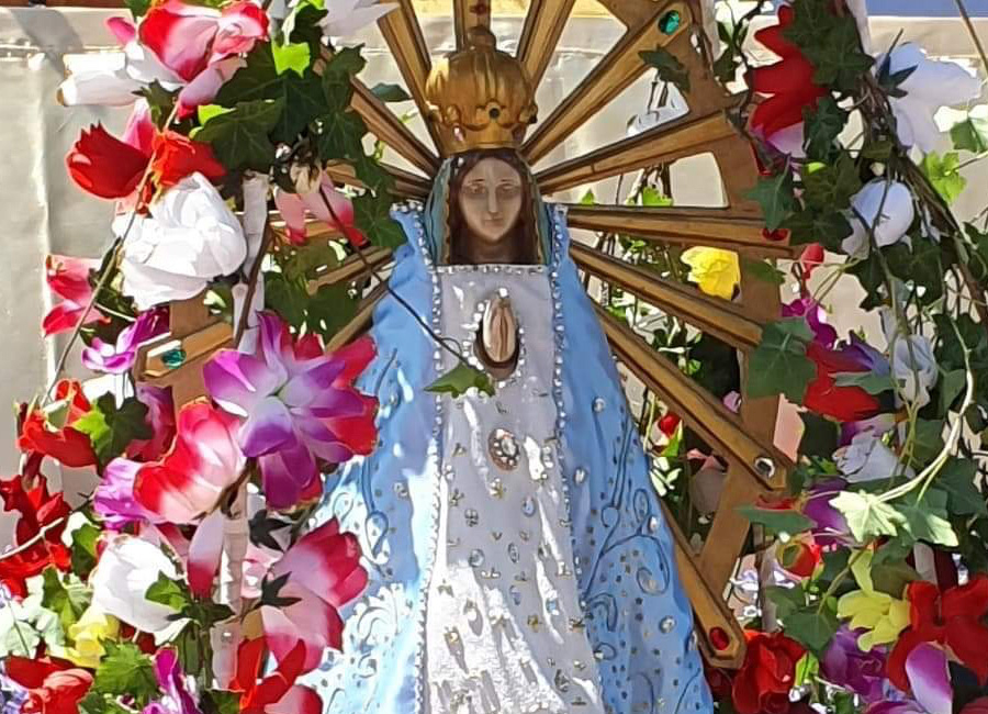 The Nuestra Señora del Refugio Community celebrates its 40th anniversary at Florencio-Varela