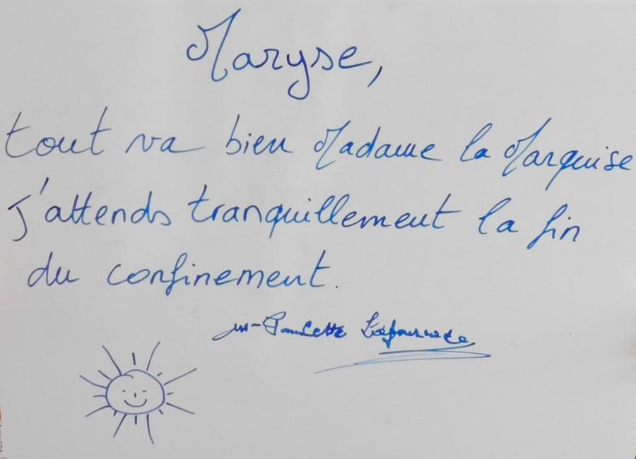 EHPAD Mariama : confinement, déconfinement...