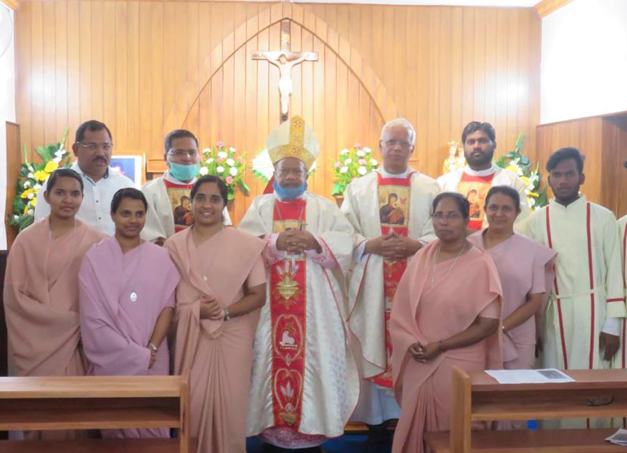 Renouvellement de vœux et bénédiction