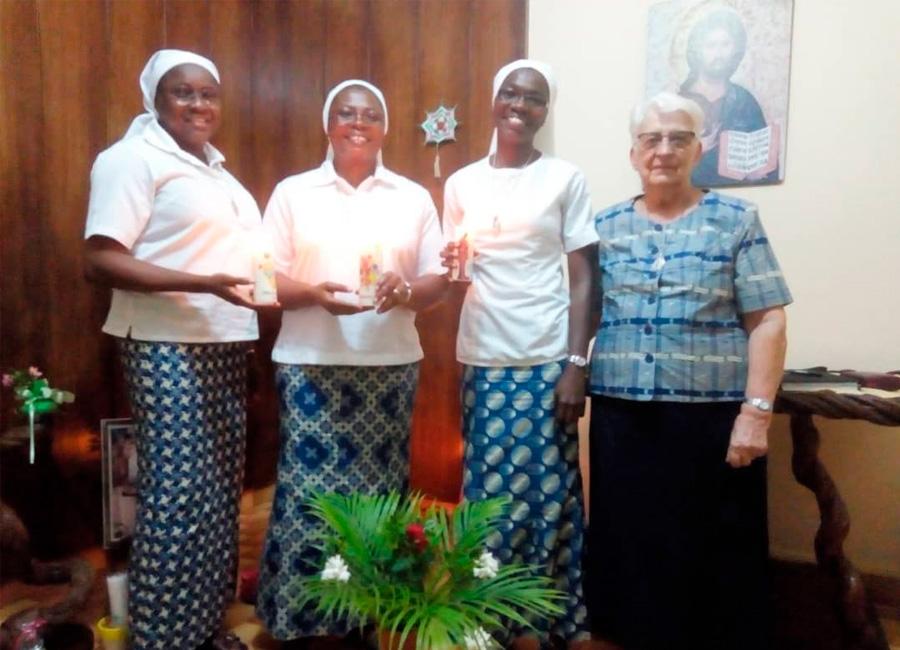 Renouvellement des vœux des sœurs junioristes